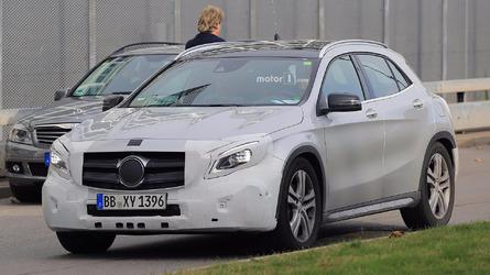 Mercedes GLA facelift reveal confirmed for next Monday