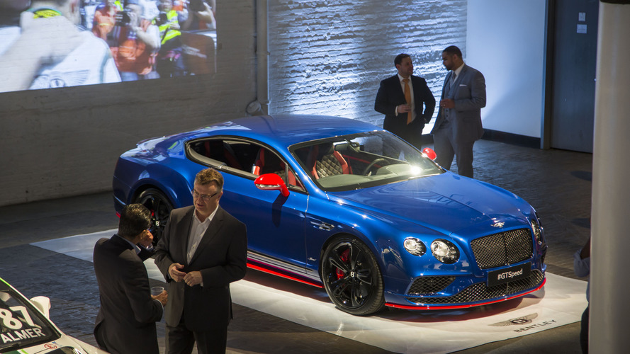 Bentley unveils 2017 GT Speed lineup in NYC