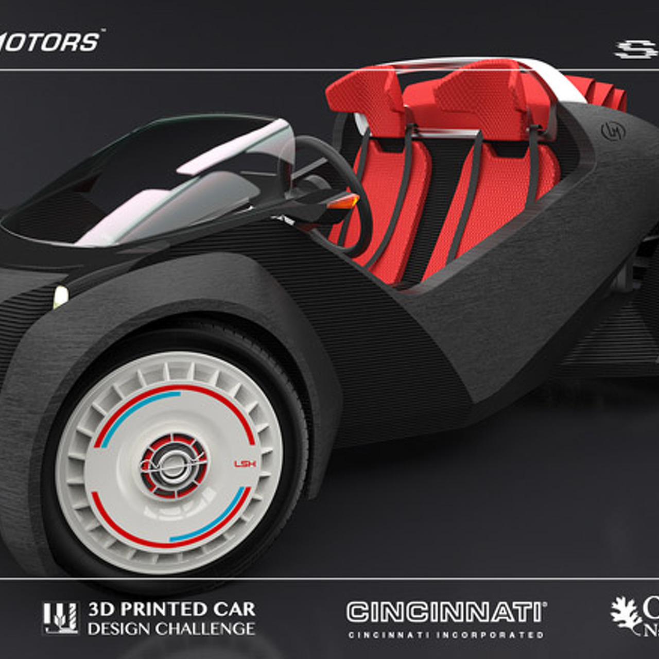 World's First 3D Printed Car Drove Off This Weekend [w/Video]