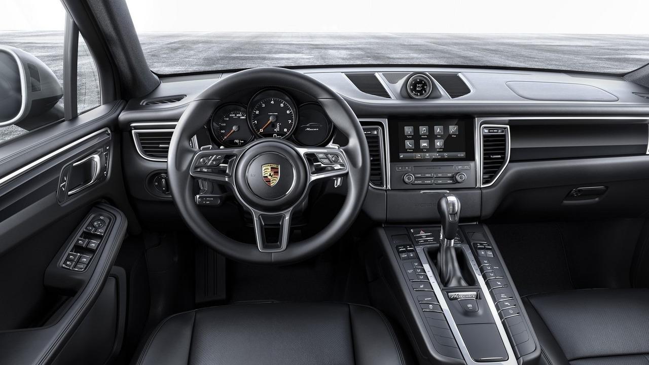 2016 Porsche Macan with four-cylinder engine