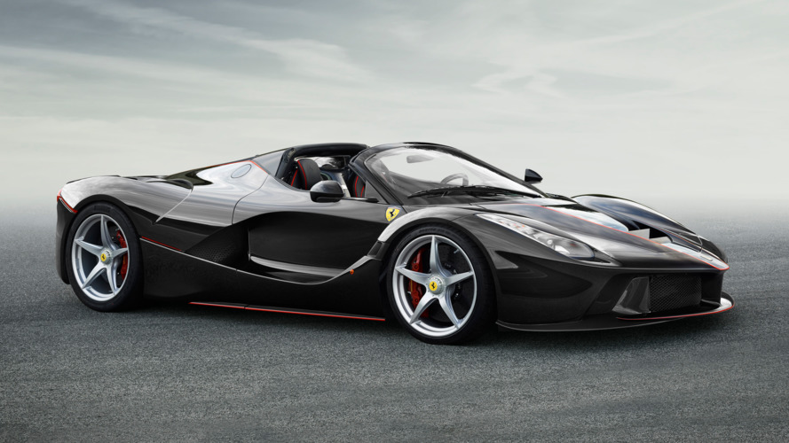 Open-top Ferrari LaFerrari gets the Aperta moniker