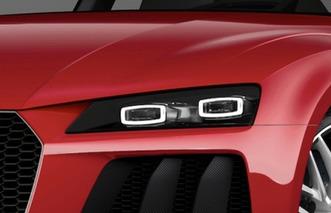 Audi Sport Quattro Laserlight Concept Set for CES Debut