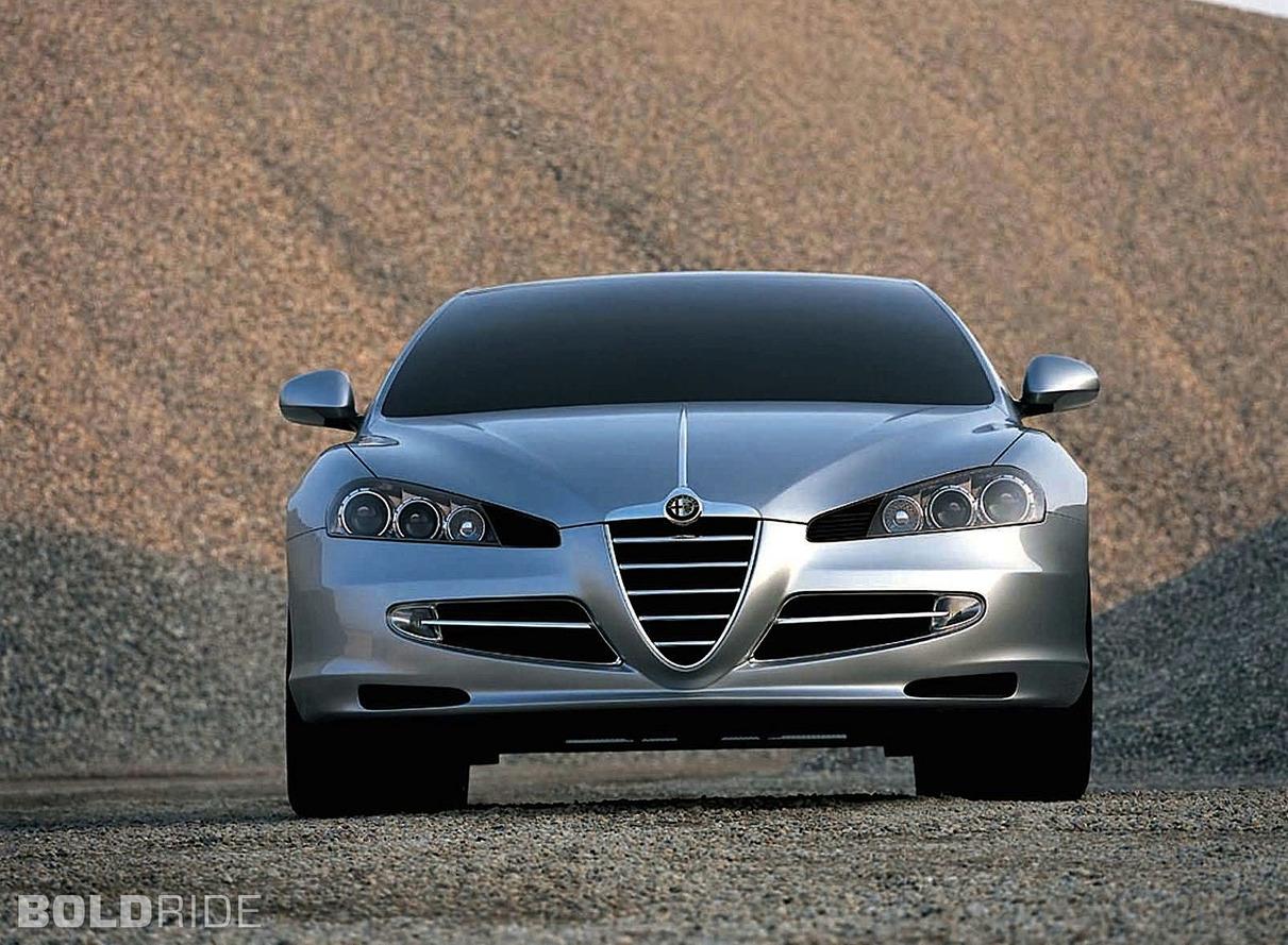 Alfa Romeo Visconti Concept ItalDesign