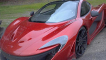 McLaren P1 during Need for Speed movie filming