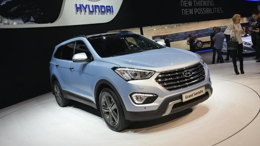 2013 Hyundai Grand Santa Fe seven-seater arrives in Geneva