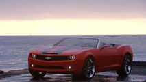 Chevy Camaro Convertible Concept Up Close