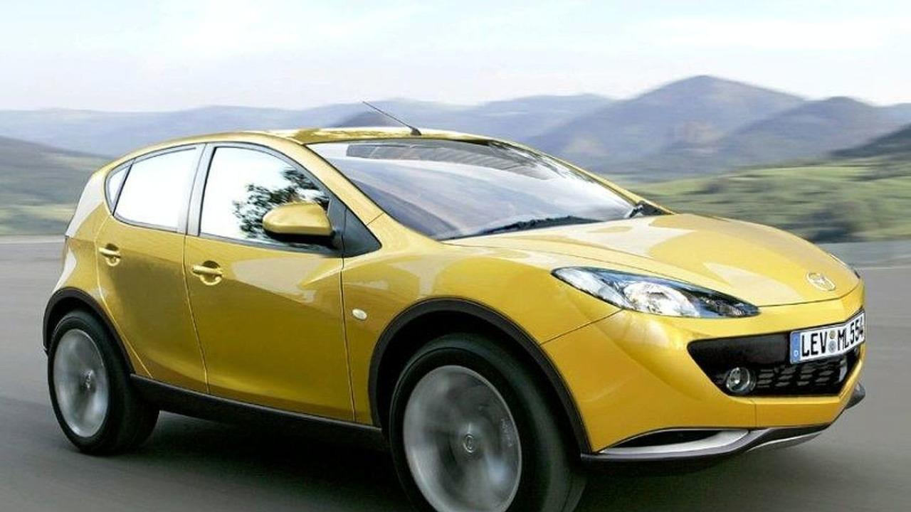 Mazda CX-5 artist rendering