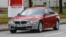 2015 / 2016 BMW 3-Series facelift spy photo