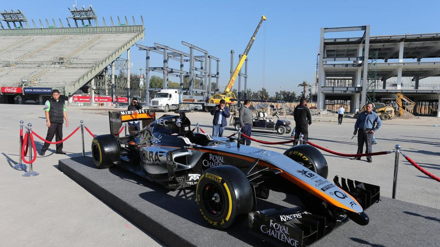 Force India denies not paying supplier bills