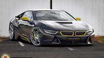 Manhart Racing previews their tuning program for the BMW i8