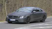 2012 Mercedes CLS 63 AMG prototype spy photo 14.04.2010