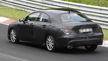 2013 Mercedes CLA spied at the Nurburgring