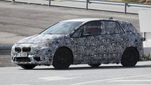BMW 1-Series GT spy photo