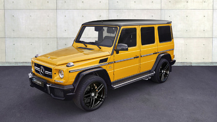 G-Power liberates 645 hp from Mercedes-AMG G63