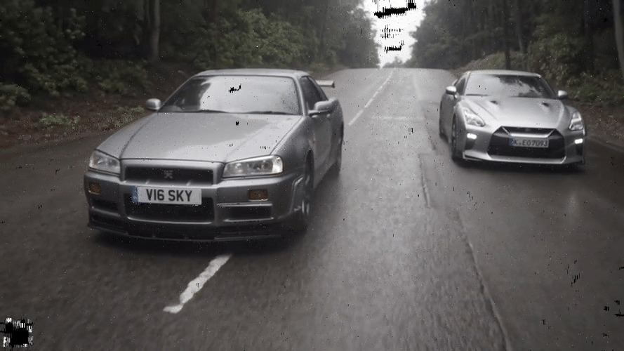 2017 Nissan GT-R Rediscovers Its Heritage in the R34 Skyline