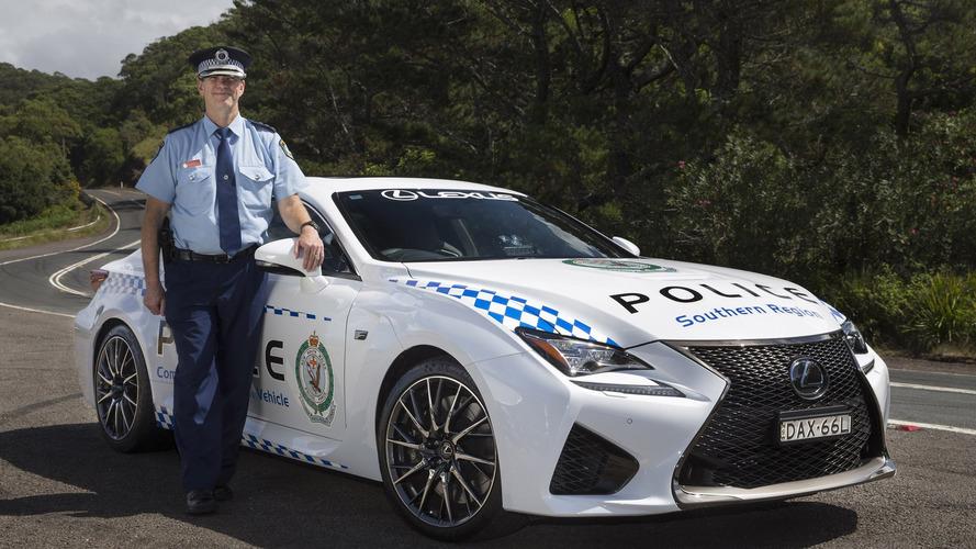Lexus équipe lui aussi la police australienne