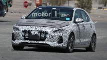 Hyundai i30 N spied testing in the desert
