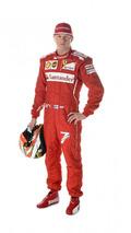 Kimi Raikkonen Ferrari 2014 race suit