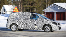 Next generation Volkswagen Touran keeps a full body camo in latest spy shots