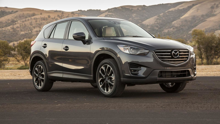 2016 Mazda CX-5 shows its new face in L.A.