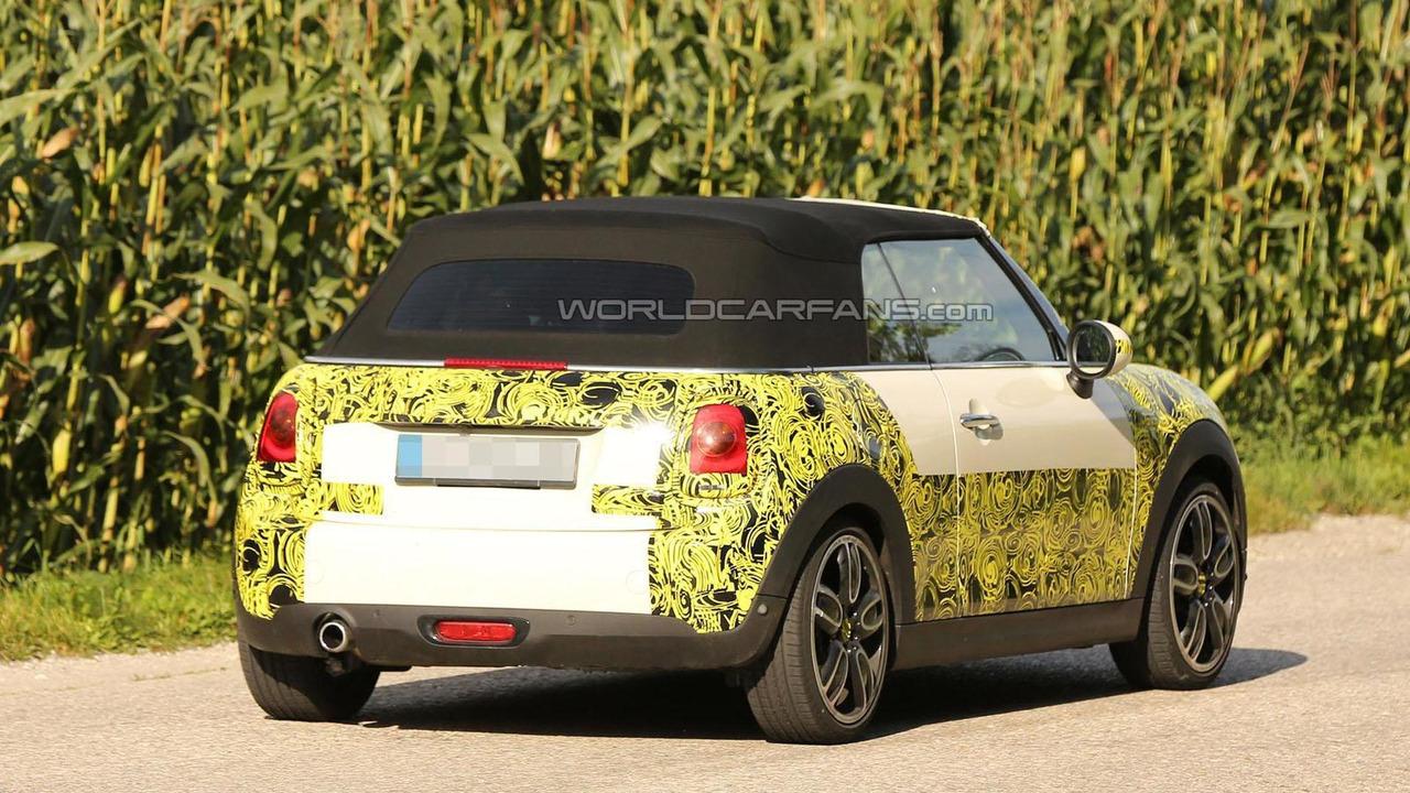 2015 MINI Cooper Cabrio spy photo