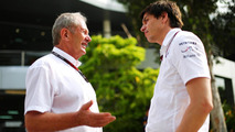 Wolff, Marko 'not on speaking terms'