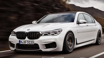 2016 BMW 7-Series rendered in M7 and Touring guises