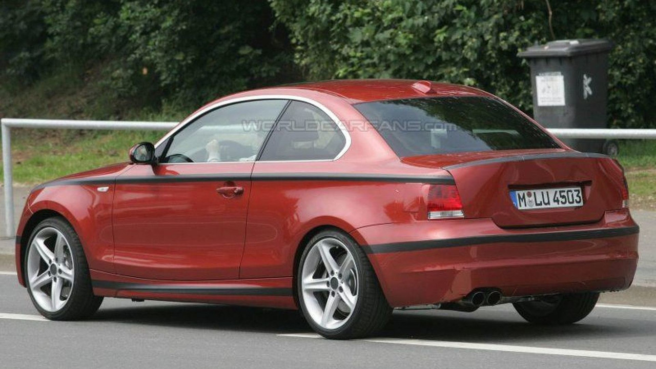 BMW 1 Series Coupe with Hans Stuck