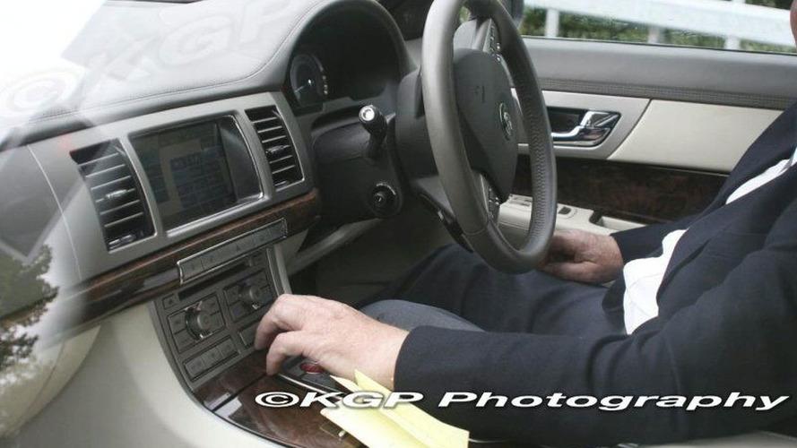 SPY PHOTOS: Jaguar XF Interior Uncovered