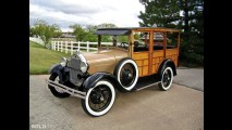 Ford Model 150-A Woodie Station Wagon