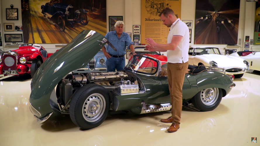 Jaguar XKSS sounds like Pavarotti, says Jay Leno