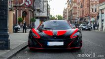 PHOTOS - La McLaren parfaite pour Halloween ?