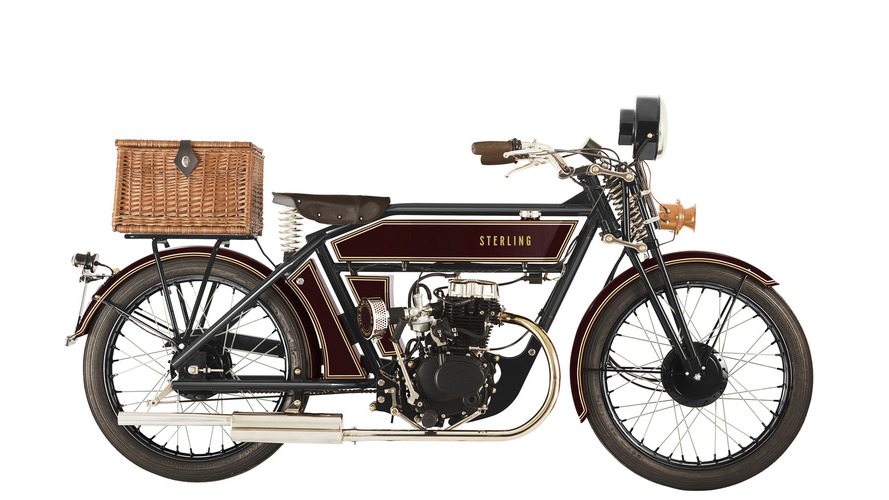 Back to the future - discover Sterling modern retro motorcycles