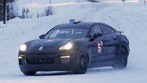 Porsche Mission E might be hiding underneath this spied Panamera