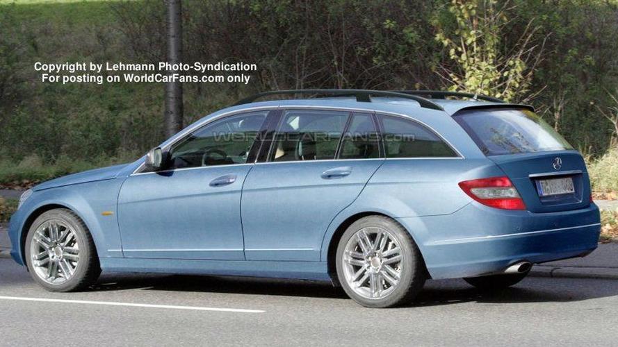 SPY PHOTOS: More Mercedes C-Class Wagon and Sedan