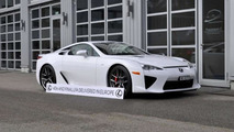 Last Lexus LFA delievered in Europe