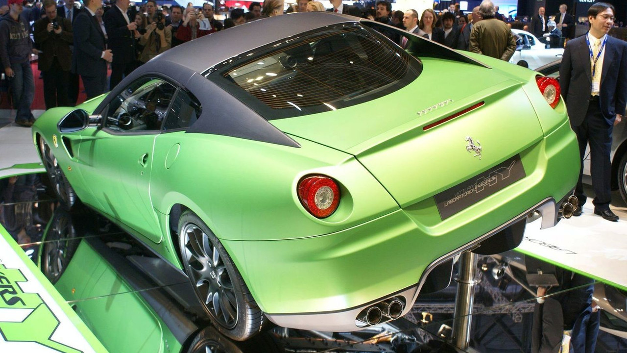 Ferrari 599 HY-KERS experimental vehicle live in Geneva 02.03.2010