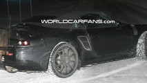 Porsche 911 (998) Carrera Cabrio Spy Photo at Night