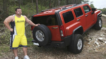 Hummer H3 with Strongman