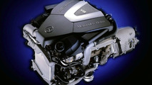 2003 Mercedes S 400 CDI V8 engine
