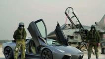 Lamborghini Reventon Takes on Tornado
