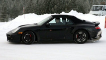 New Porsche 911 Turbo Cabrio spy photos