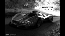 Mercedes-Benz SL GTR Concept by Mark Hostler