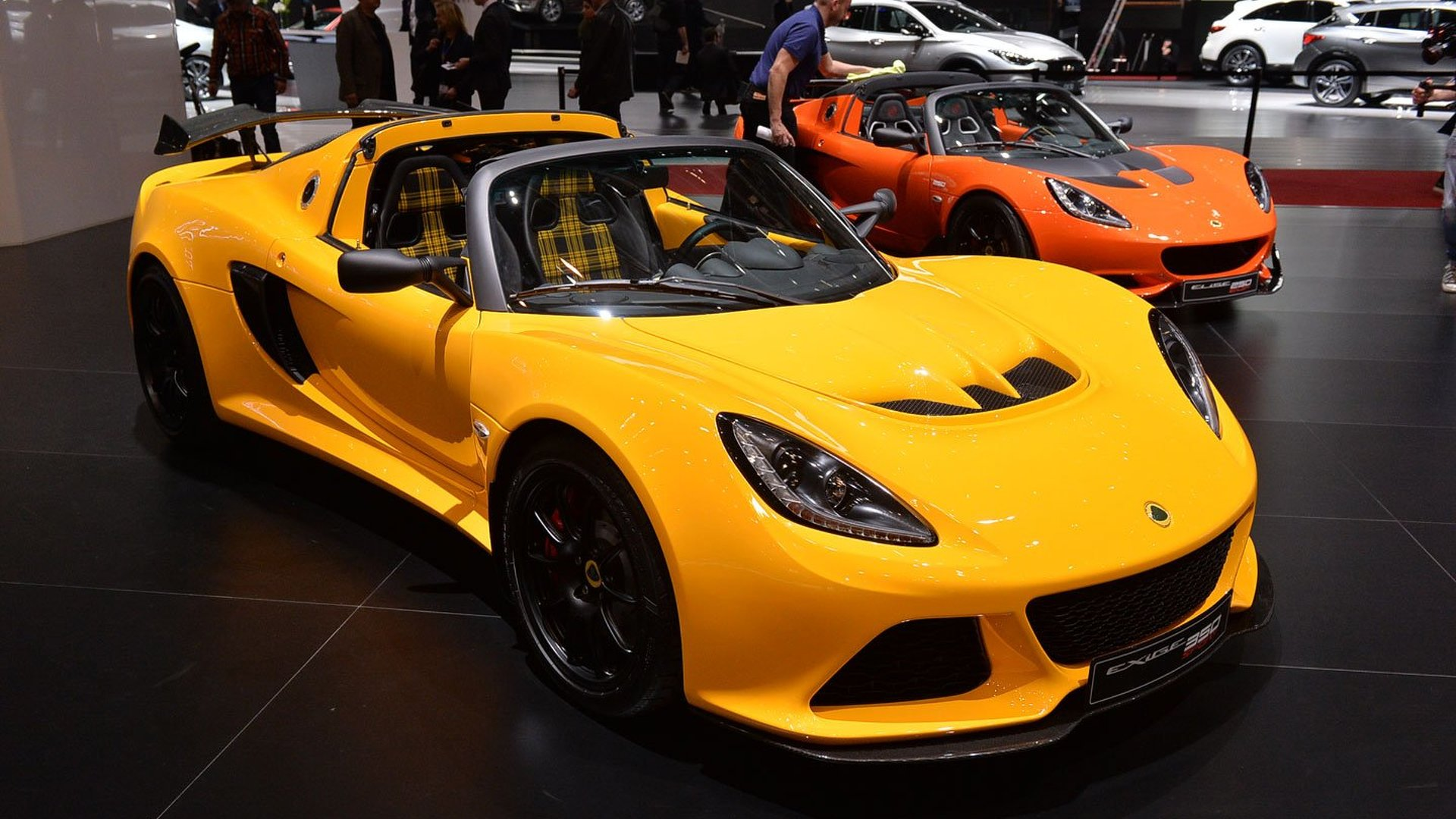Lotus Exige Sport 350 Roadster unveiled with 345 hp