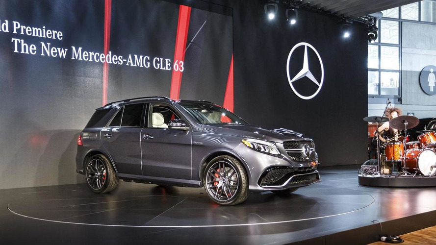 Mercedes GLE bows in New York