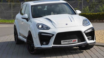 2015 Porsche Cayenne gains Expression XR wide body kit with more than 37 parts [video]