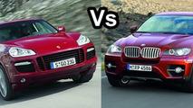 BMW X6 & Porsche Cayenne GTS