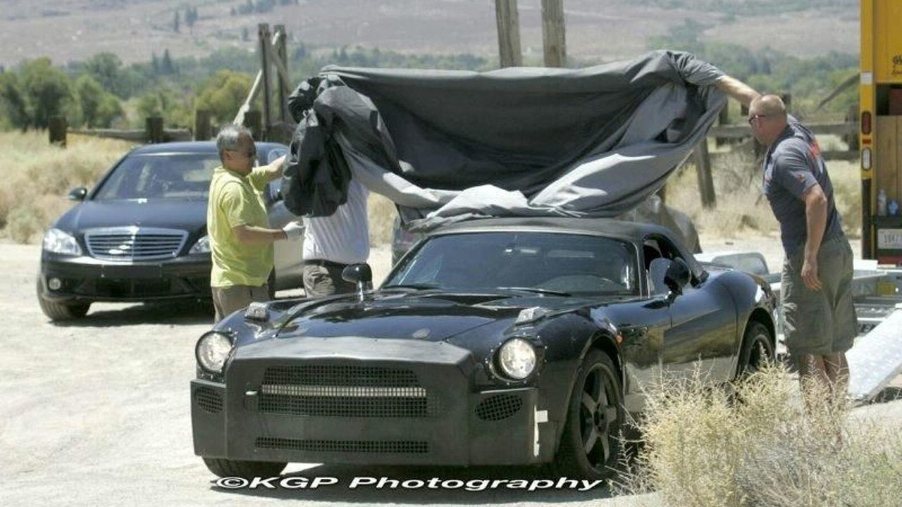 Mercedes SLC Test Mule