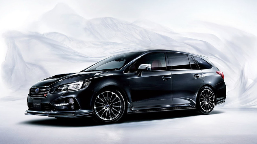 Subaru Levorg STI Sport has honed handling, no extra power