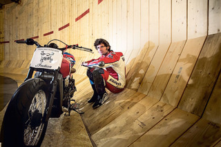 Watch Guy Martin Break a 'Wall of Death' World Record